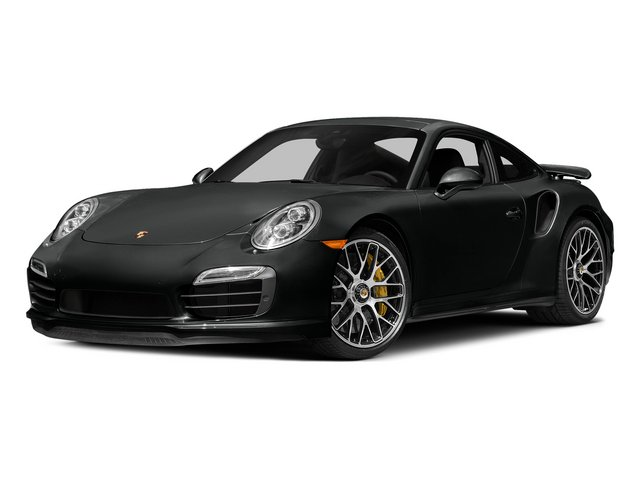 Jet Black Metallic 2015 Porsche 911 Pictures 911 Coupe 2D Turbo S AWD H6 photos front view