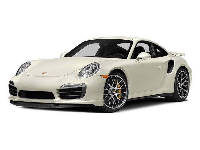 Carrara White Metallic 2015 Porsche 911 Pictures 911 Coupe 2D Turbo S AWD H6 photos front view