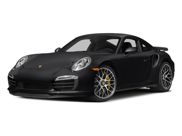 Black 2015 Porsche 911 Pictures 911 Coupe 2D Turbo S AWD H6 photos front view