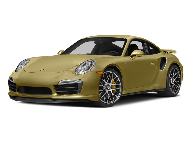 Lime Gold Metallic 2015 Porsche 911 Pictures 911 Coupe 2D Turbo S AWD H6 photos front view