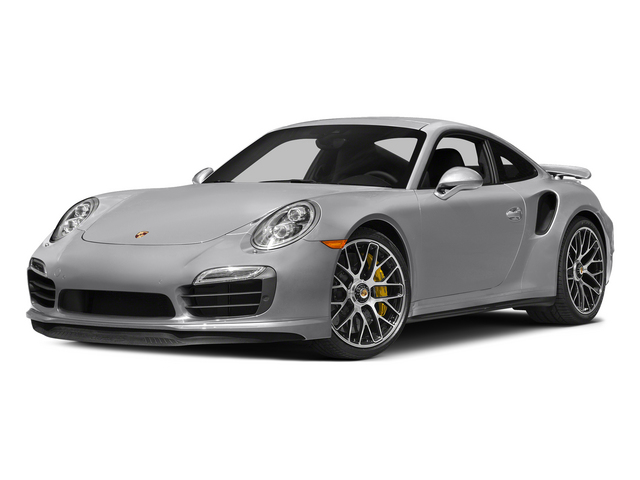 GT Silver Metallic 2015 Porsche 911 Pictures 911 Coupe 2D Turbo S AWD H6 photos front view