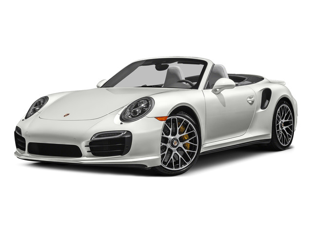 White 2015 Porsche 911 Pictures 911 Cabriolet 2D S AWD H6 Turbo photos front view