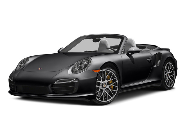 Black 2015 Porsche 911 Pictures 911 Cabriolet 2D S AWD H6 Turbo photos front view
