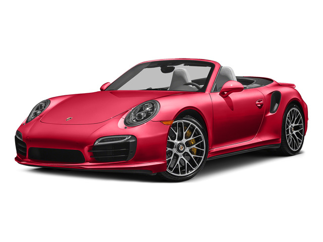 Guards Red 2015 Porsche 911 Pictures 911 Cabriolet 2D S AWD H6 Turbo photos front view