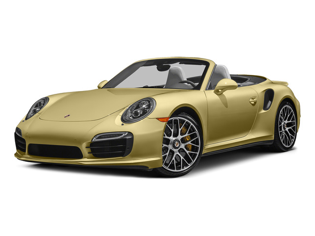 Lime Gold Metallic 2015 Porsche 911 Pictures 911 Cabriolet 2D S AWD H6 Turbo photos front view