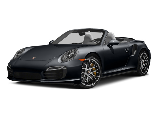 Basalt Black Metallic 2015 Porsche 911 Pictures 911 Cabriolet 2D S AWD H6 Turbo photos front view