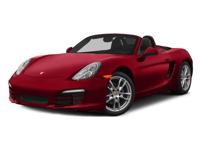 Carmine Red 2015 Porsche Boxster Pictures Boxster Roadster 2D H6 photos front view