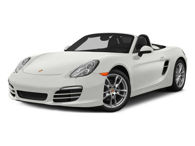 White 2015 Porsche Boxster Pictures Boxster Roadster 2D H6 photos front view
