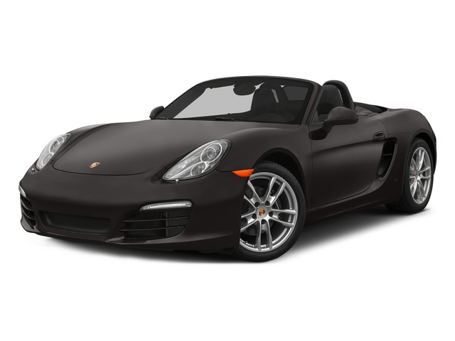 Anthracite Brown Metallic 2015 Porsche Boxster Pictures Boxster Roadster 2D H6 photos front view