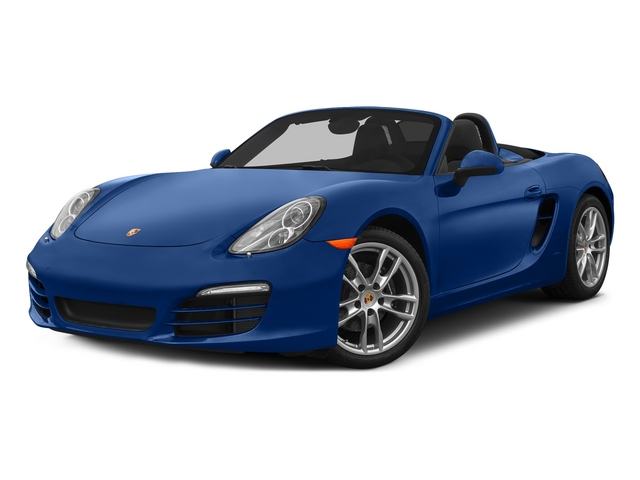 Sapphire Blue Metallic 2015 Porsche Boxster Pictures Boxster Roadster 2D H6 photos front view
