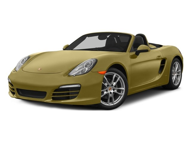 Lime Gold Metallic 2015 Porsche Boxster Pictures Boxster Roadster 2D H6 photos front view