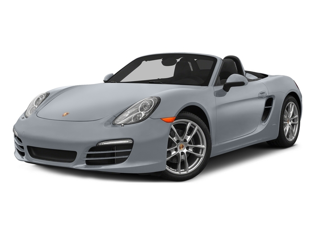 Rhodium Silver Metallic 2015 Porsche Boxster Pictures Boxster Roadster 2D H6 photos front view