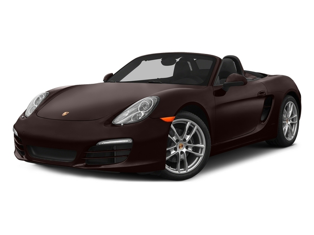 Mahogany Metallic 2015 Porsche Boxster Pictures Boxster Roadster 2D H6 photos front view