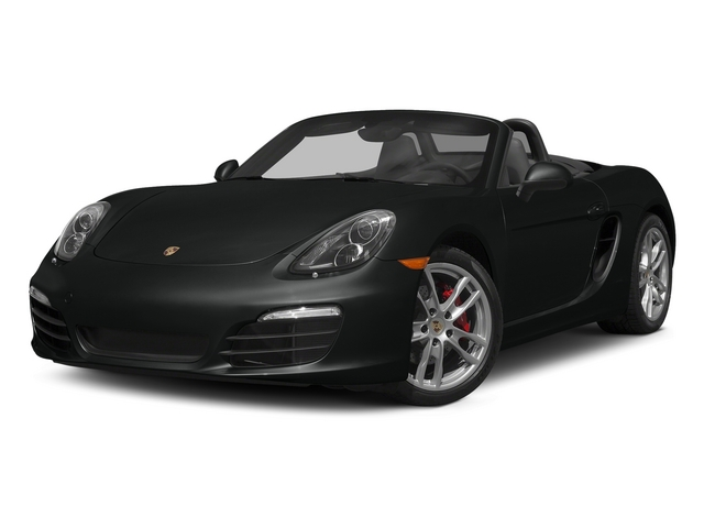 Jet Black Metallic 2015 Porsche Boxster Pictures Boxster Roadster 2D GTS H6 photos front view