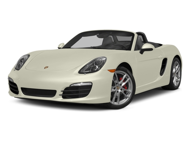 Carrara White Metallic 2015 Porsche Boxster Pictures Boxster Roadster 2D GTS H6 photos front view