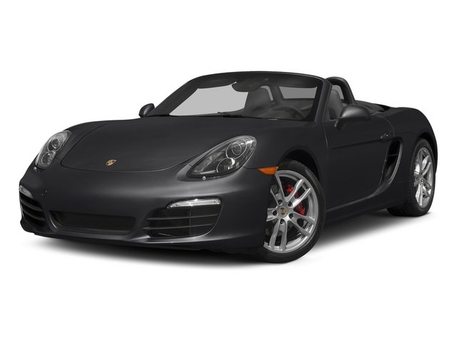 Black 2015 Porsche Boxster Pictures Boxster Roadster 2D GTS H6 photos front view