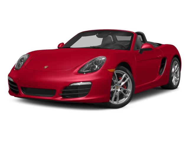 Guards Red 2015 Porsche Boxster Pictures Boxster Roadster 2D GTS H6 photos front view