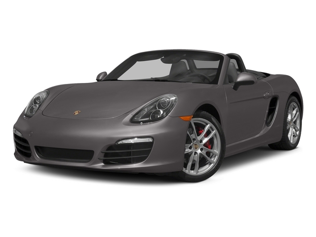 Agate Gray Metallic 2015 Porsche Boxster Pictures Boxster Roadster 2D GTS H6 photos front view