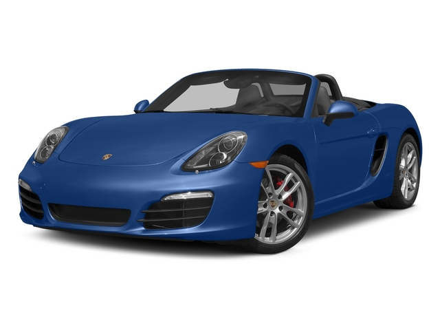 Sapphire Blue Metallic 2015 Porsche Boxster Pictures Boxster Roadster 2D GTS H6 photos front view