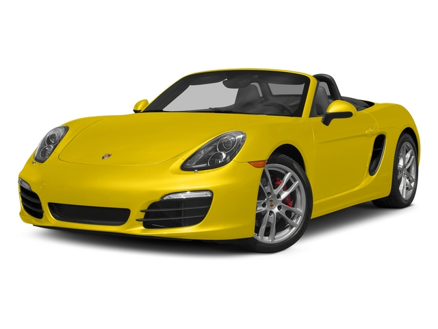 Racing Yellow 2015 Porsche Boxster Pictures Boxster Roadster 2D GTS H6 photos front view