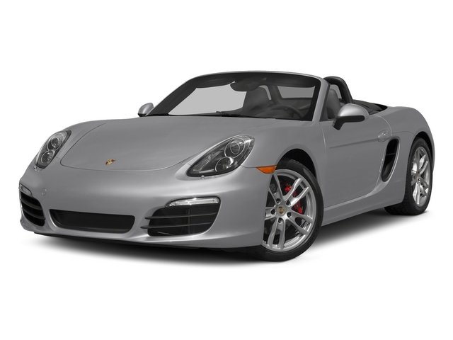 GT Silver Metallic 2015 Porsche Boxster Pictures Boxster Roadster 2D S H6 photos front view