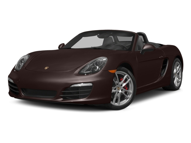 Mahogany Metallic 2015 Porsche Boxster Pictures Boxster Roadster 2D GTS H6 photos front view