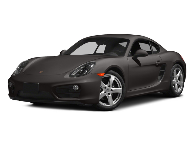Anthracite Brown Metallic 2015 Porsche Cayman Pictures Cayman Coupe 2D H6 photos front view