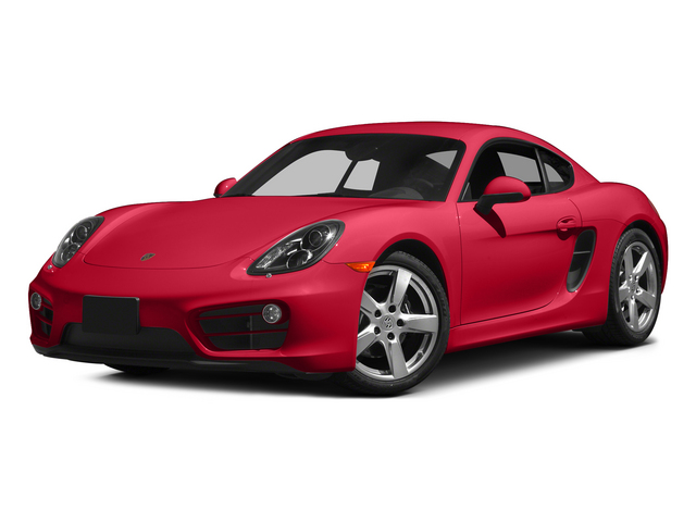 Guards Red 2015 Porsche Cayman Pictures Cayman Coupe 2D H6 photos front view