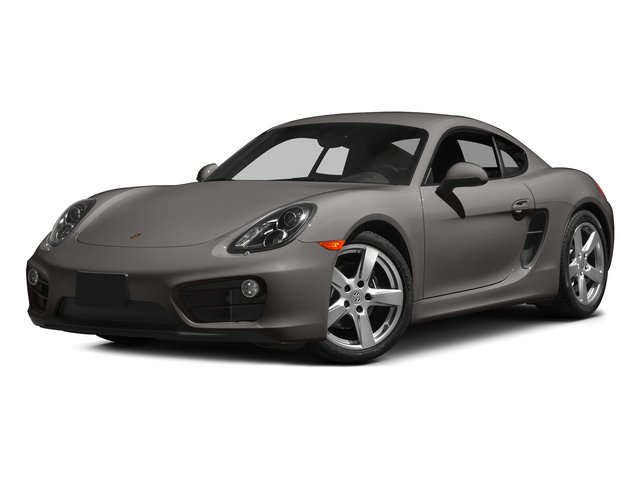 Agate Gray Metallic 2015 Porsche Cayman Pictures Cayman Coupe 2D H6 photos front view