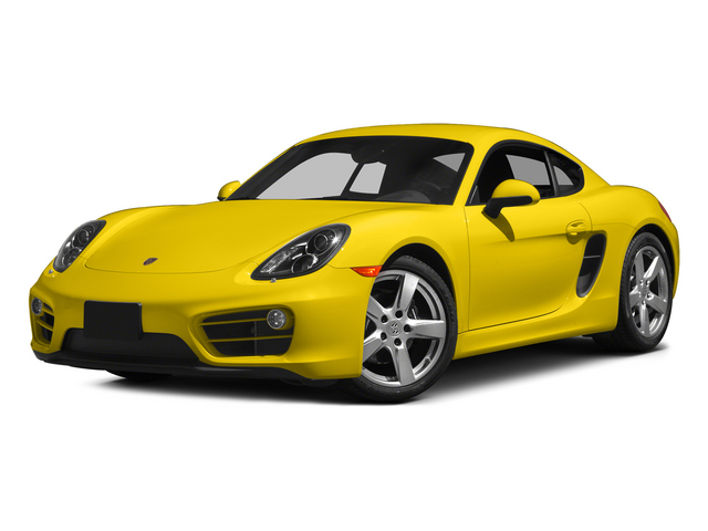 Racing Yellow 2015 Porsche Cayman Pictures Cayman Coupe 2D H6 photos front view
