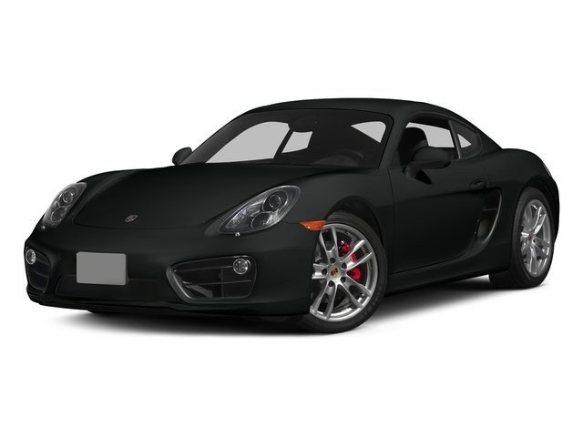 Jet Black Metallic 2015 Porsche Cayman Pictures Cayman Coupe 2D GTS H6 photos front view