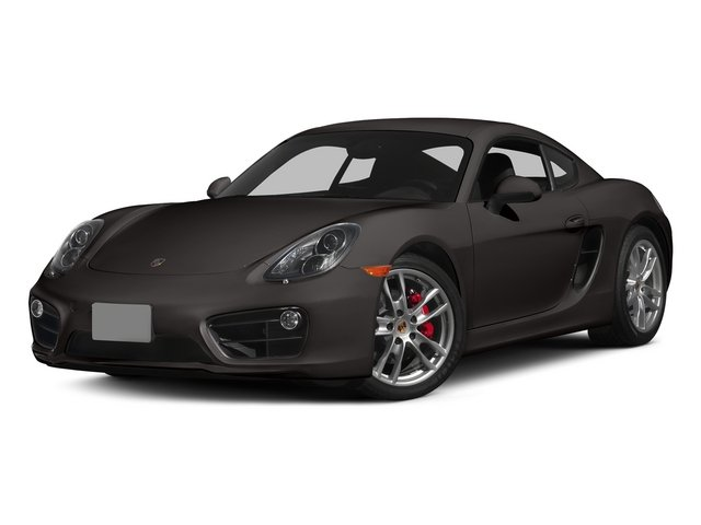 Anthracite Brown Metallic 2015 Porsche Cayman Pictures Cayman Coupe 2D GTS H6 photos front view