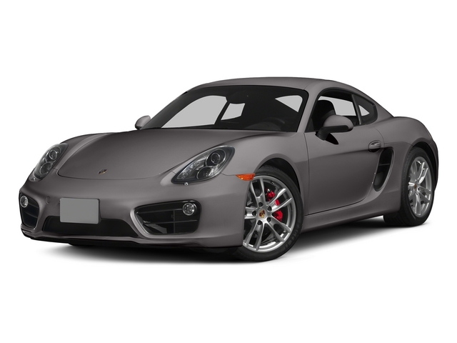 Agate Gray Metallic 2015 Porsche Cayman Pictures Cayman Coupe 2D GTS H6 photos front view