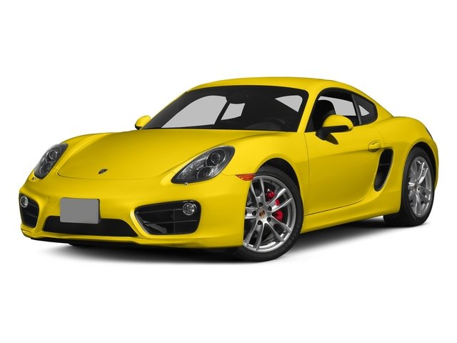 Racing Yellow 2015 Porsche Cayman Pictures Cayman Coupe 2D GTS H6 photos front view