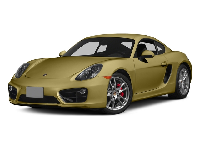 Lime Gold Metallic 2015 Porsche Cayman Pictures Cayman Coupe 2D GTS H6 photos front view