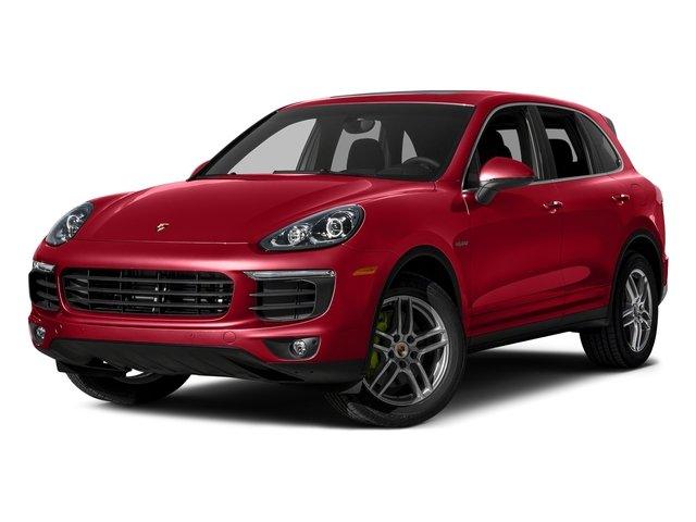 Carmine Red 2015 Porsche Cayenne Pictures Cayenne Utility 4D S V6 e-Hybrid AWD photos front view