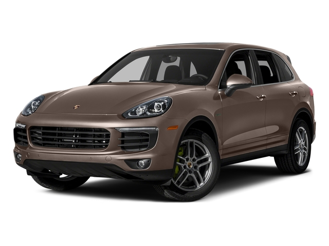 Umber Metallic 2015 Porsche Cayenne Pictures Cayenne Utility 4D S V6 e-Hybrid AWD photos front view