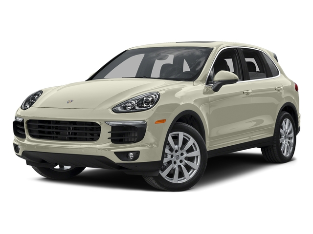 Carrara White Metallic 2015 Porsche Cayenne Pictures Cayenne Utility 4D AWD V8 Turbo photos front view