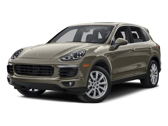 Palladium Metallic 2015 Porsche Cayenne Pictures Cayenne Utility 4D AWD V8 Turbo photos front view