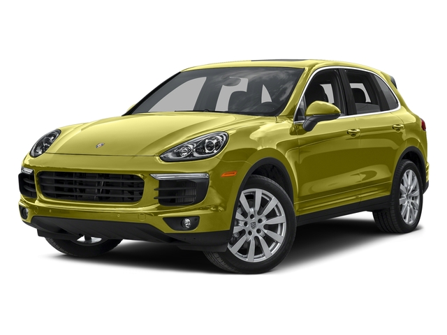 Peridot Metallic 2015 Porsche Cayenne Pictures Cayenne Utility 4D AWD V8 Turbo photos front view