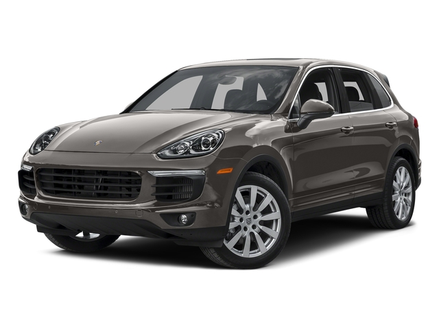 Meteor Gray Metallic 2015 Porsche Cayenne Pictures Cayenne Utility 4D AWD V8 Turbo photos front view