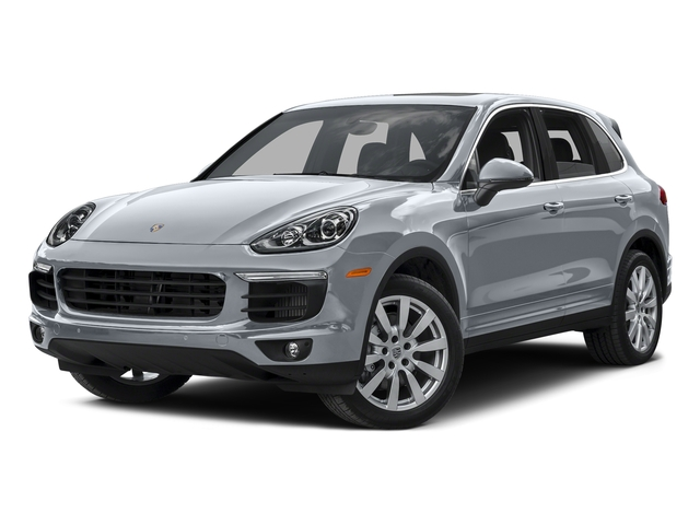 Rhodium Silver Metallic 2015 Porsche Cayenne Pictures Cayenne Utility 4D AWD V8 Turbo photos front view