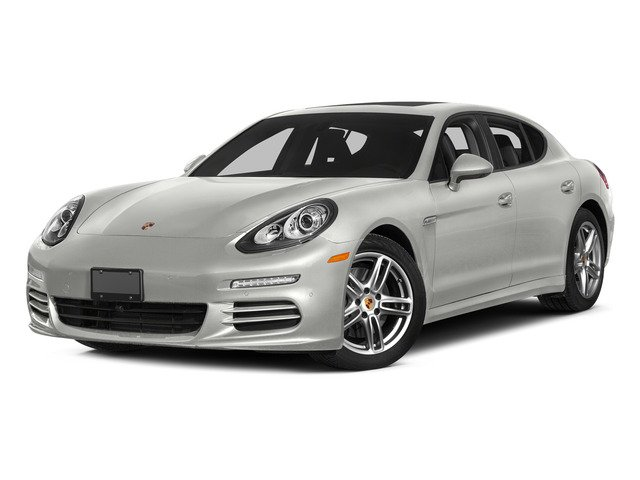 White 2015 Porsche Panamera Pictures Panamera Hatchback 4D H6 photos front view