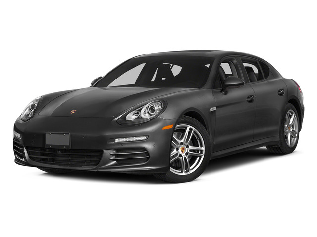 Carbon Gray Metallic 2015 Porsche Panamera Pictures Panamera Hatchback 4D S Exec AWD V8 Turbo photos front view