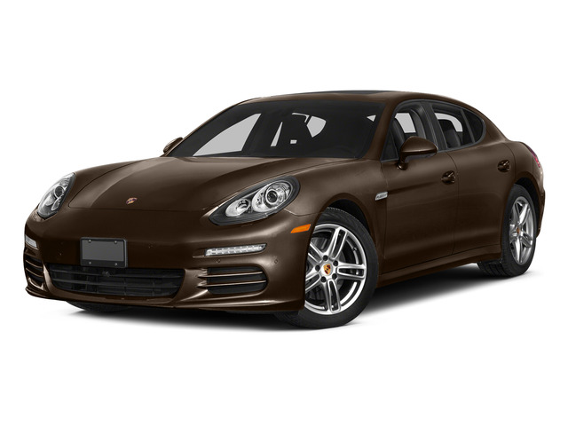 Chestnut Brown Metallic 2015 Porsche Panamera Pictures Panamera Hatchback 4D S Exec AWD V8 Turbo photos front view