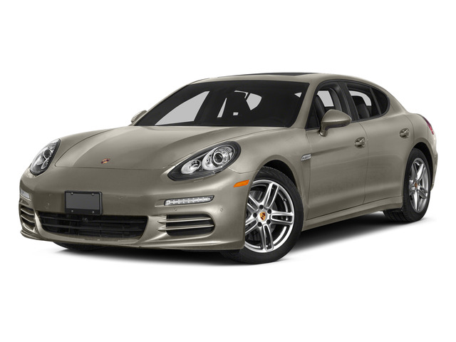 Palladium Metallic 2015 Porsche Panamera Pictures Panamera Hatchback 4D 4 AWD H6 photos front view