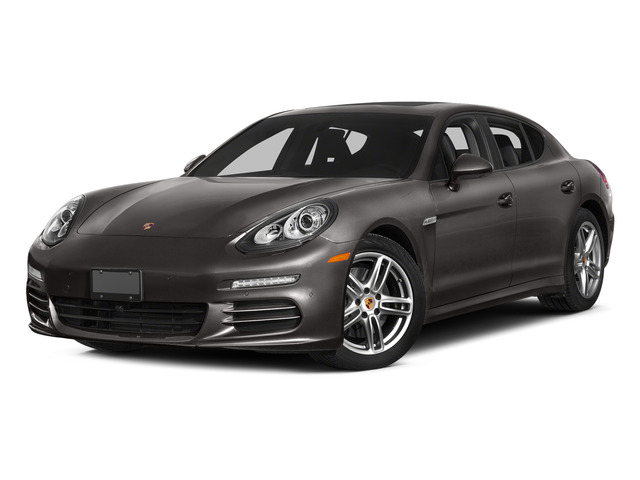 Agate Gray Metallic 2015 Porsche Panamera Pictures Panamera Hatchback 4D 4 AWD H6 photos front view