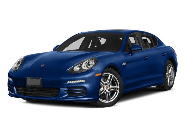 Sapphire Blue Metallic 2015 Porsche Panamera Pictures Panamera Hatchback 4D 4 AWD H6 photos front view