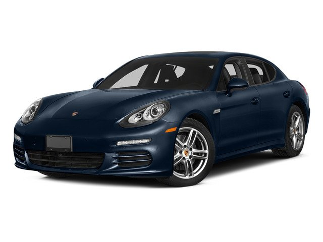 Dark Blue Metallic 2015 Porsche Panamera Pictures Panamera Hatchback 4D 4 AWD H6 photos front view