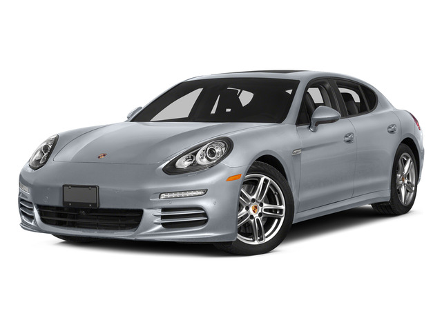 Rhodium Silver Metallic 2015 Porsche Panamera Pictures Panamera Hatchback 4D H6 photos front view